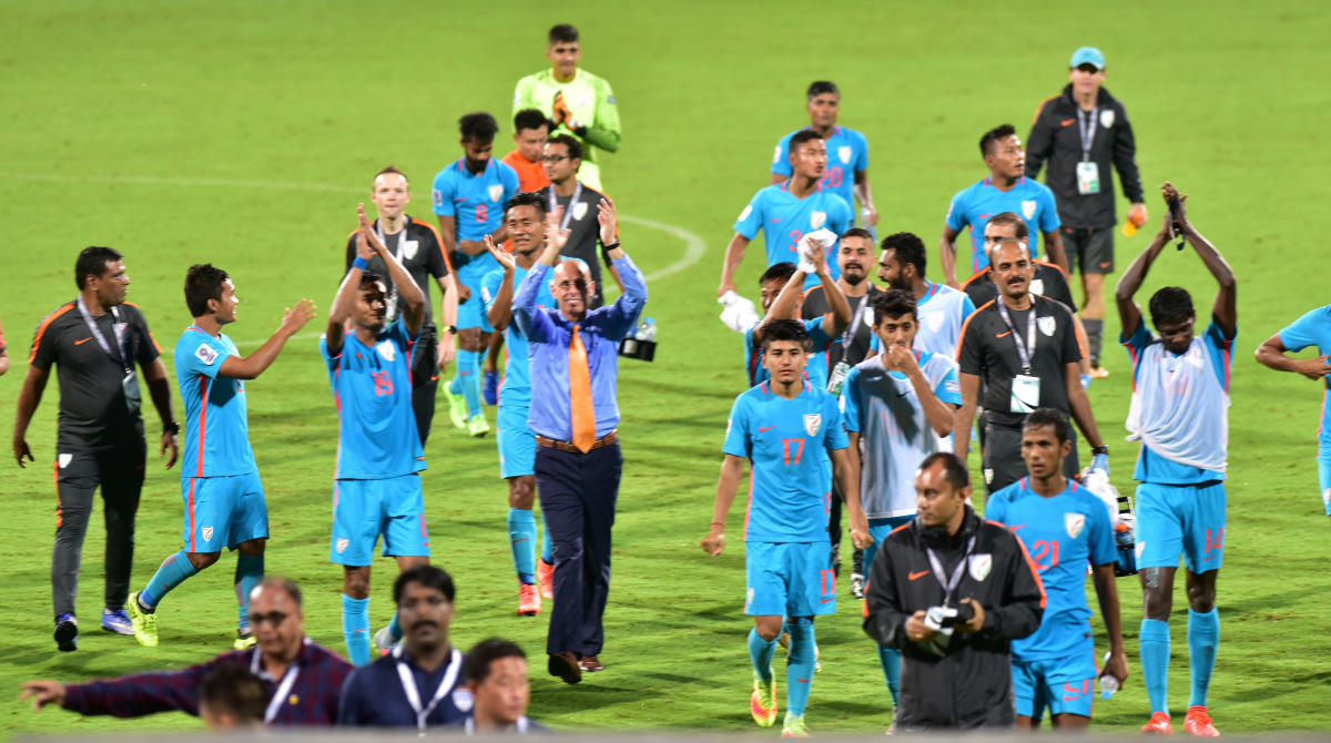 India static at 105th in latest FIFA rankings