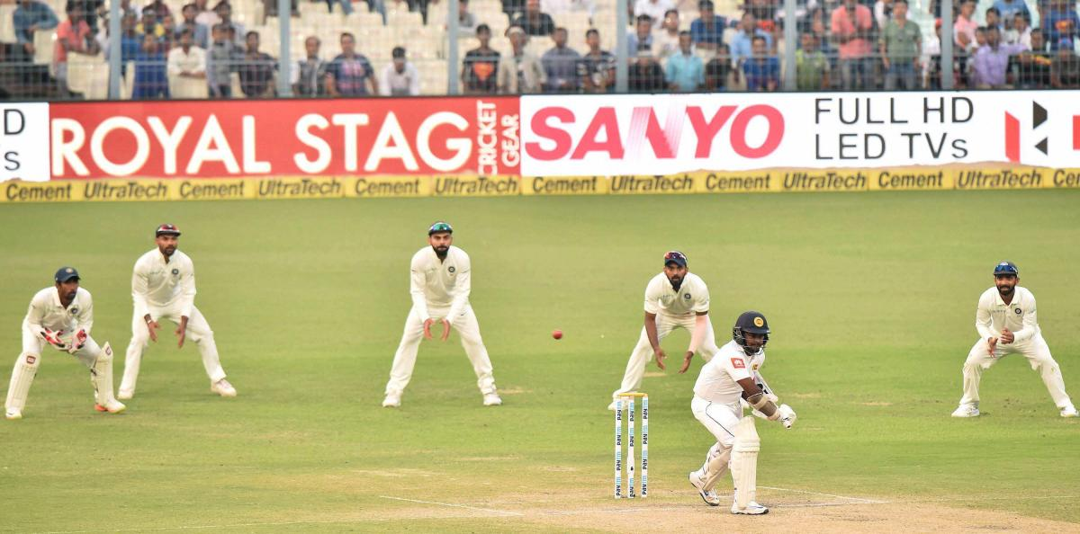 Sri Lanka all out for 205 against India