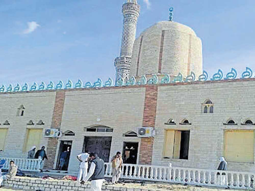 305 killed in terror attack on Egypt mosque