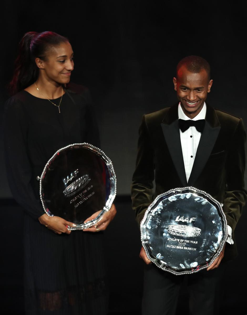 Barshim, Thiam, bag honours