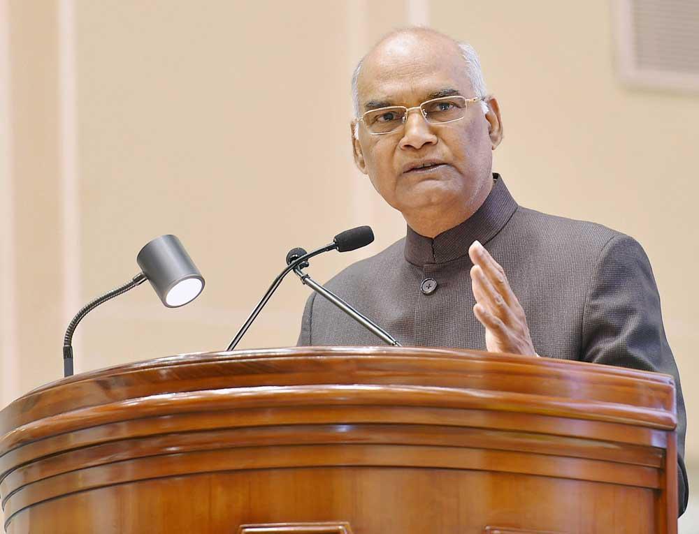 Must not disturb balance of govt branches: Kovind