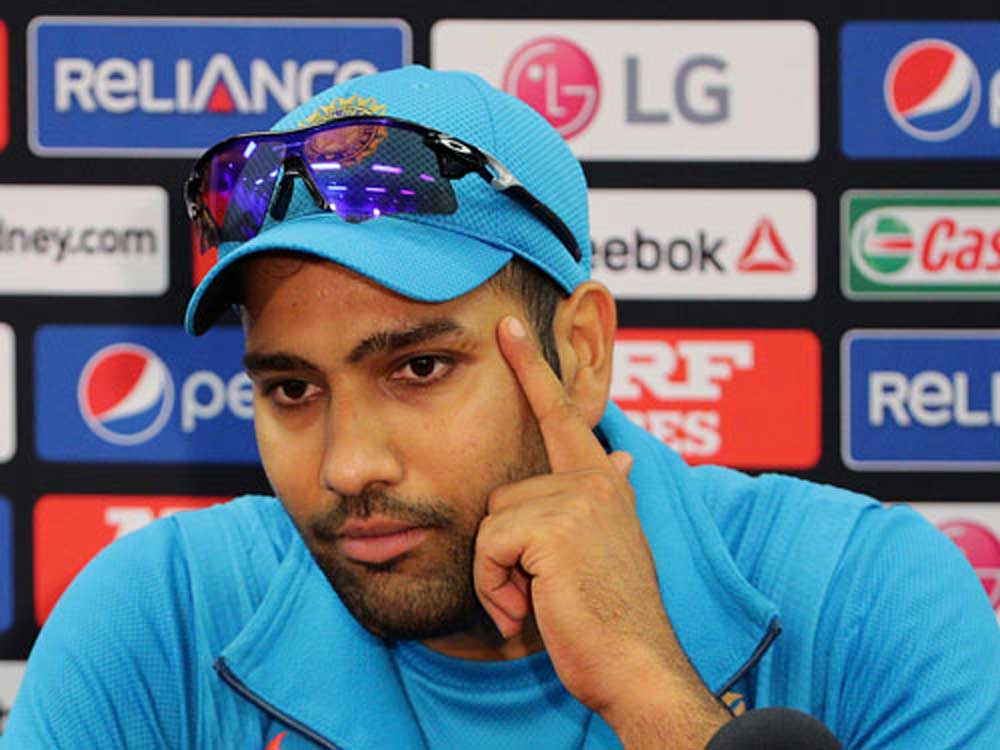 Rohit pleased with a ton on return