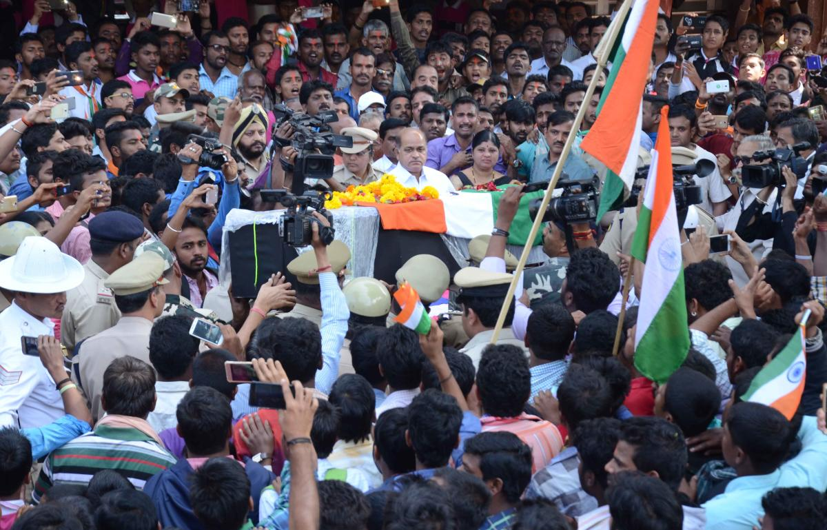 CRPF jawan laid to rest at native village