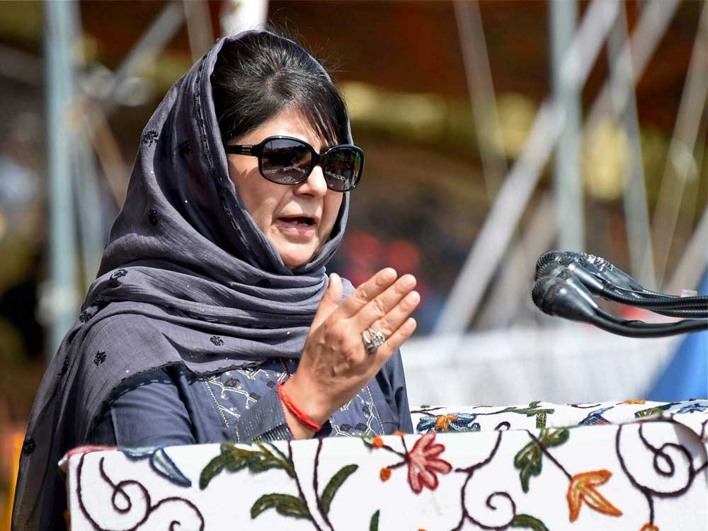 Mehbooba advocates for 'humane approach' to deal with militants