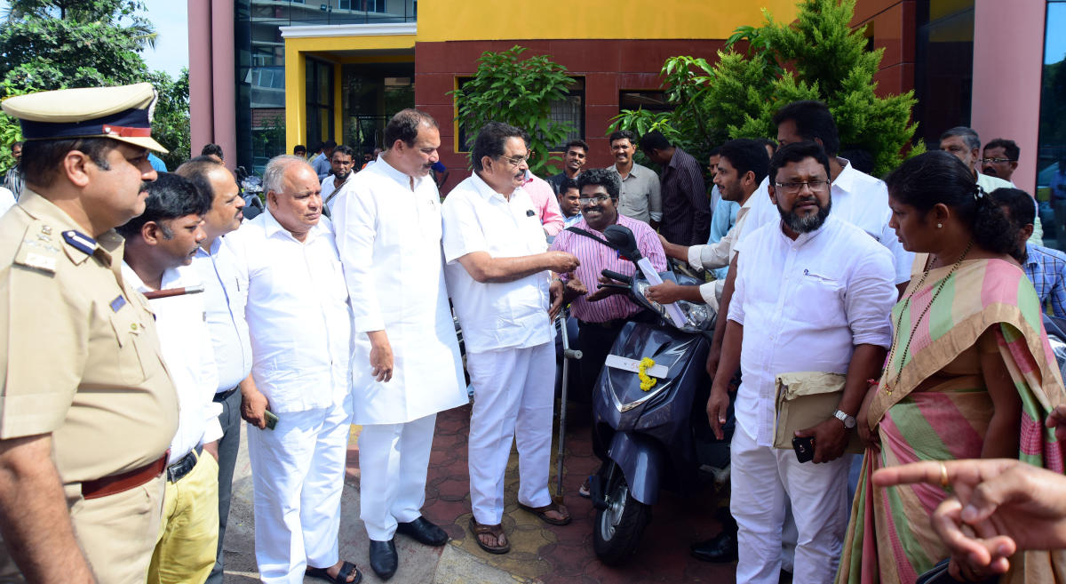 Minister directs officials to speed up work on Ambedkar Bhavans