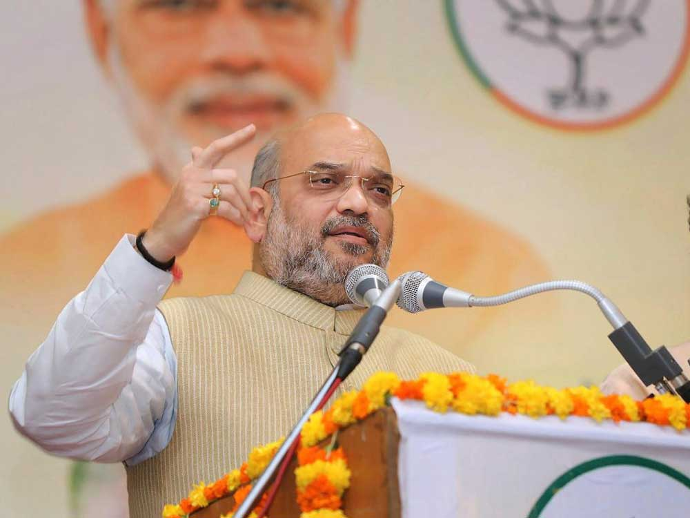 BJP President Amit Shah's tour tentatively rescheduled