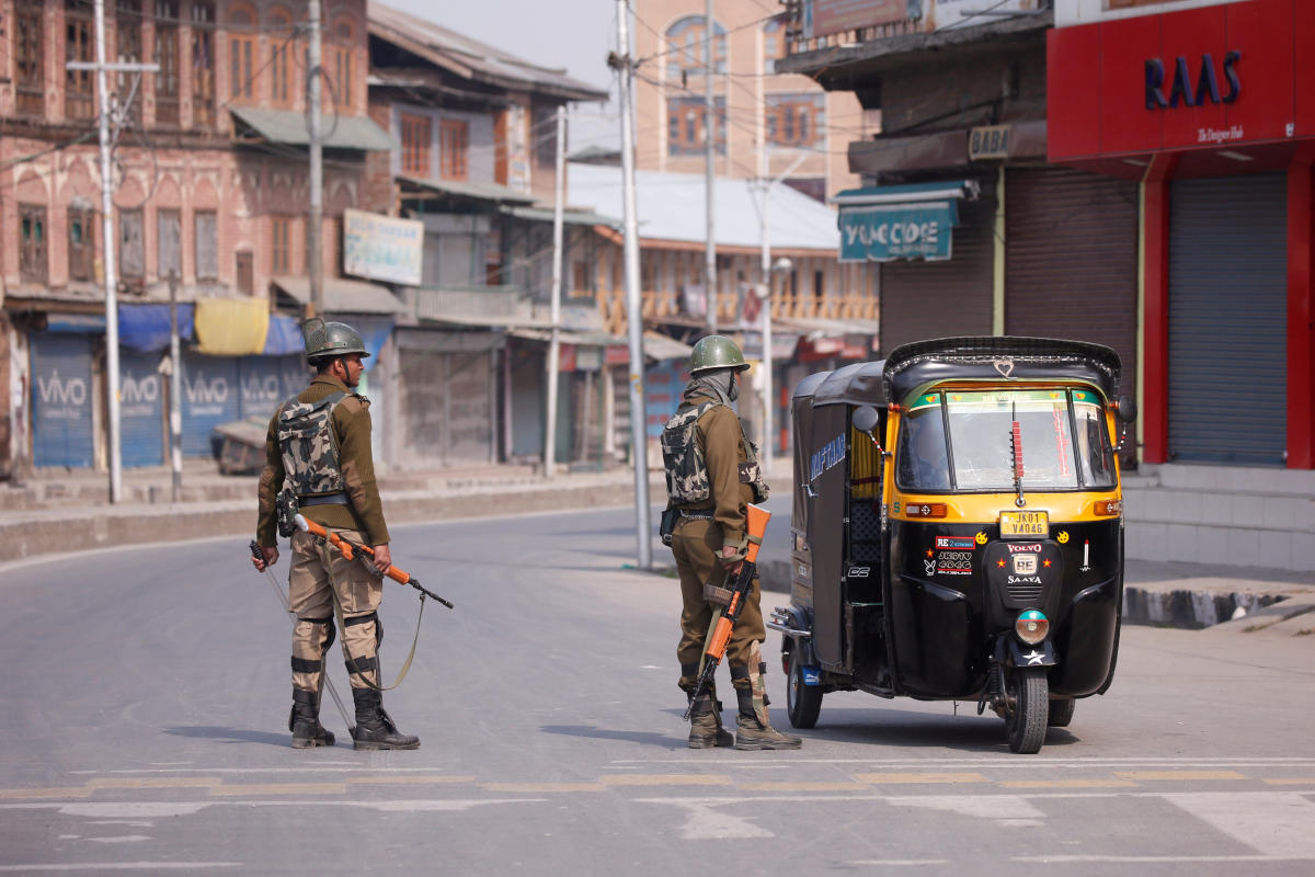 A day after killings, uneasy calm prevails in Kashmir