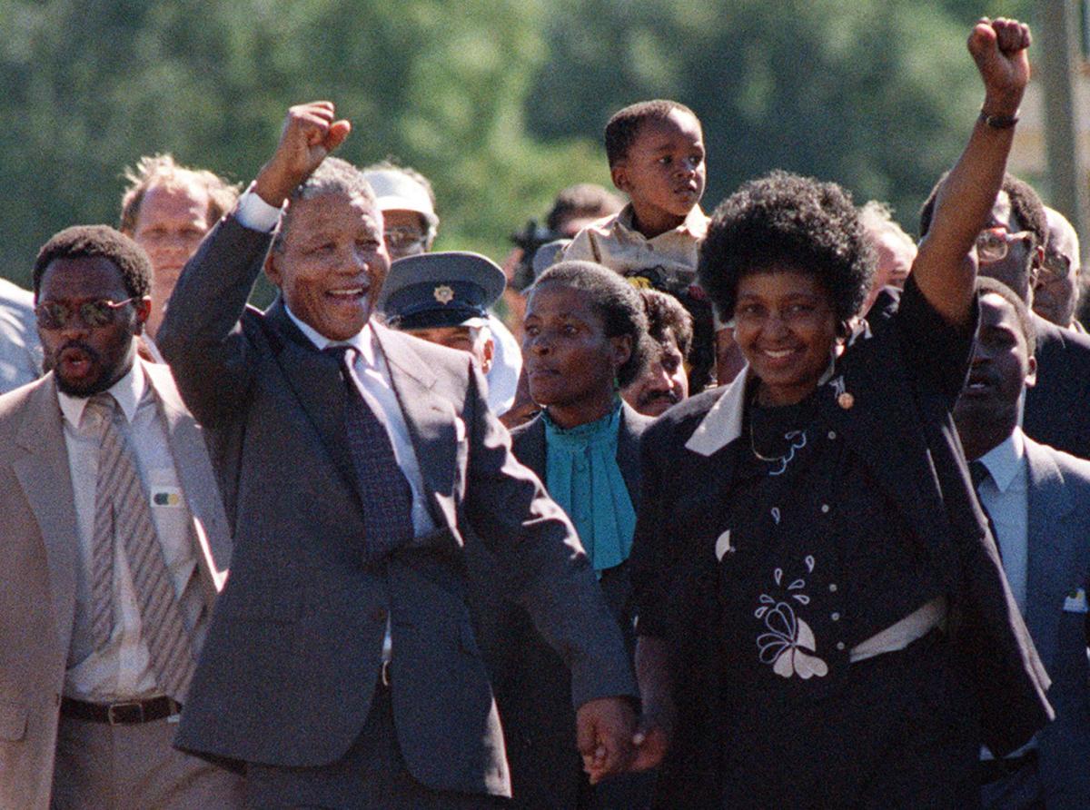 Winnie Mandela, activist ex-wife of Nelson Mandela, dies