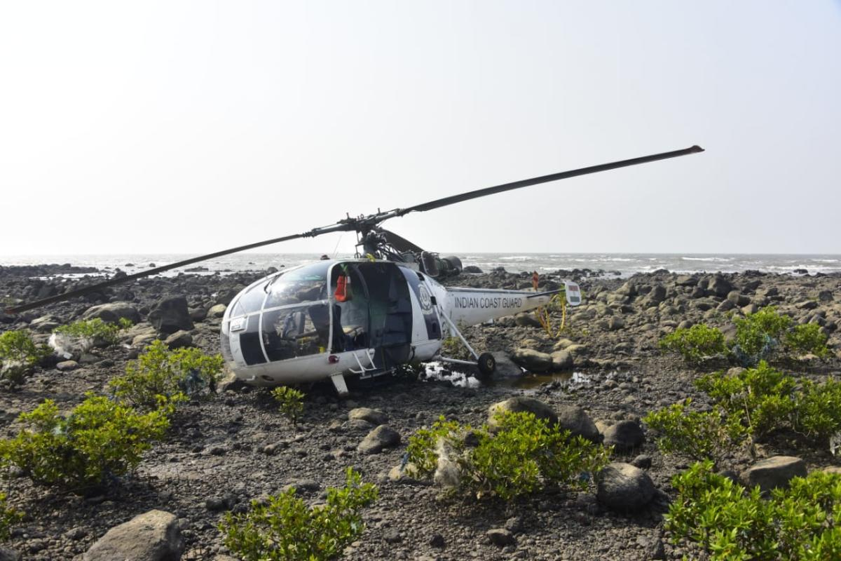 MiG 17 chopper crashes near Kedarnath