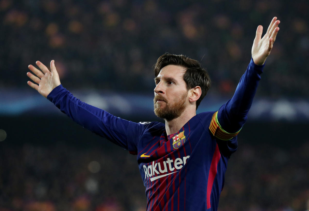 Spotlight on Messi as Barca host Roma ?