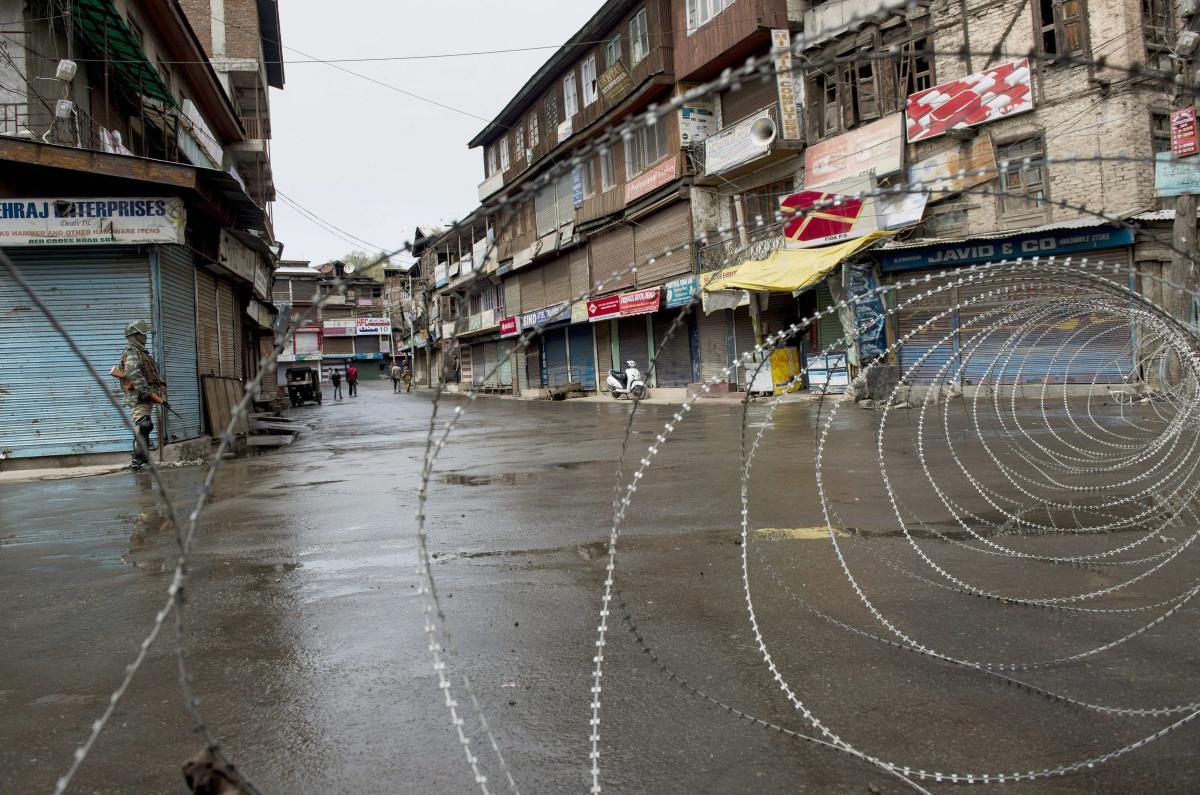 Restrictions continue for the third day in parts of Kashmir after separatist-sponsored strikes