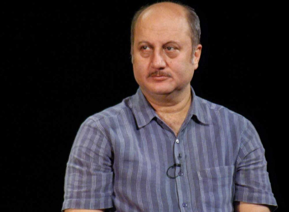 Anupam Kher nominated for TV BAFTA for 'The Boy with the Topknot'