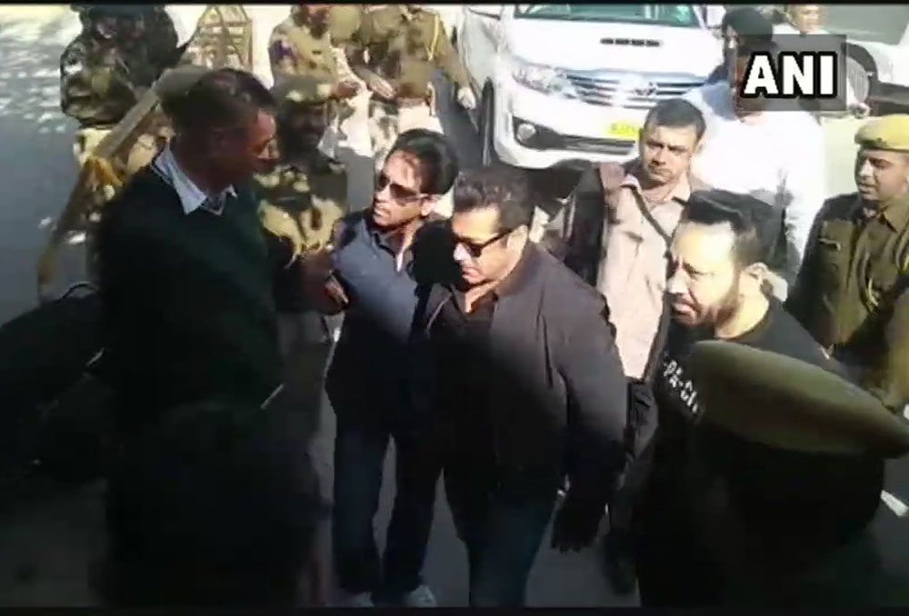 Fans assemble to catch a glimpse of Salman