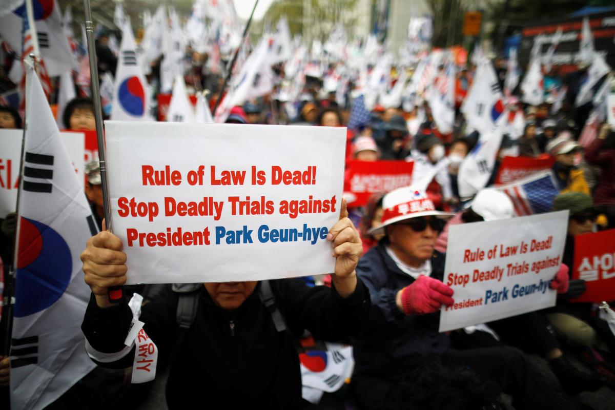 S Korea ex-prez Park jailed for 24 years over graft