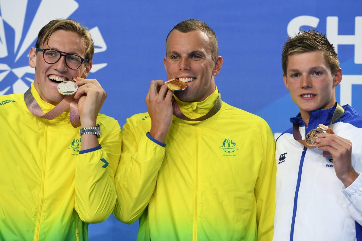 Chalmers back from heart surgery to win 200m freestyle