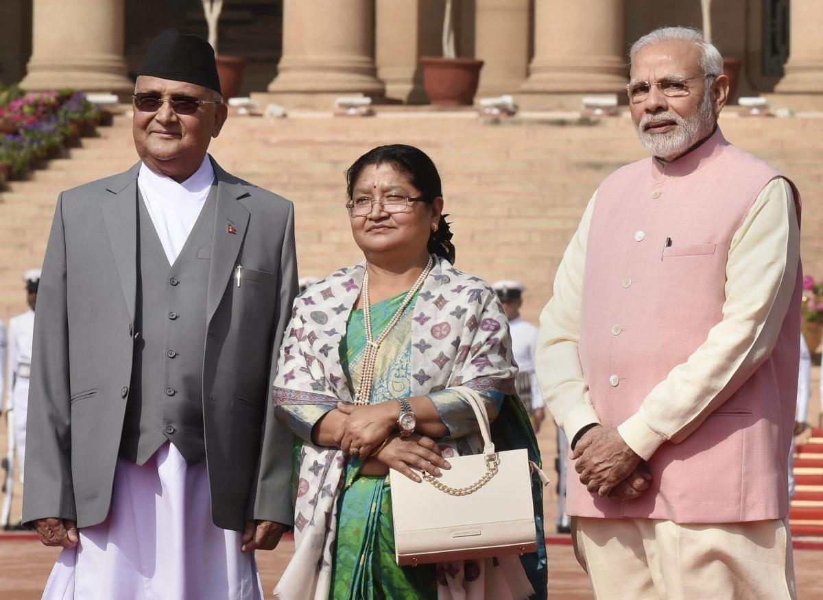Modi holds talks with Oli to deepen bilateral ties
