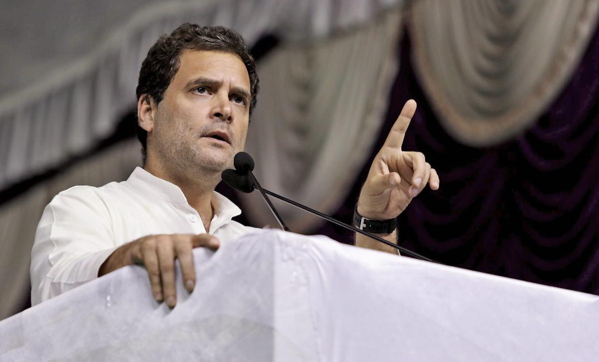 Rahul Gandhi hits out at PM over proposed jet procurement