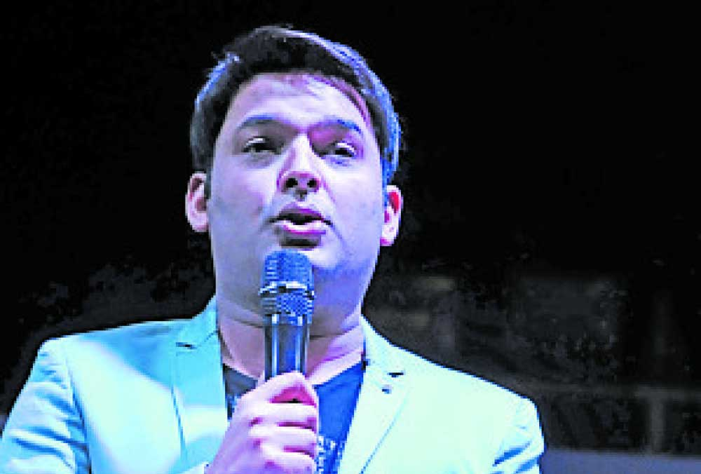 Kapil files complaint against scribe, former managers