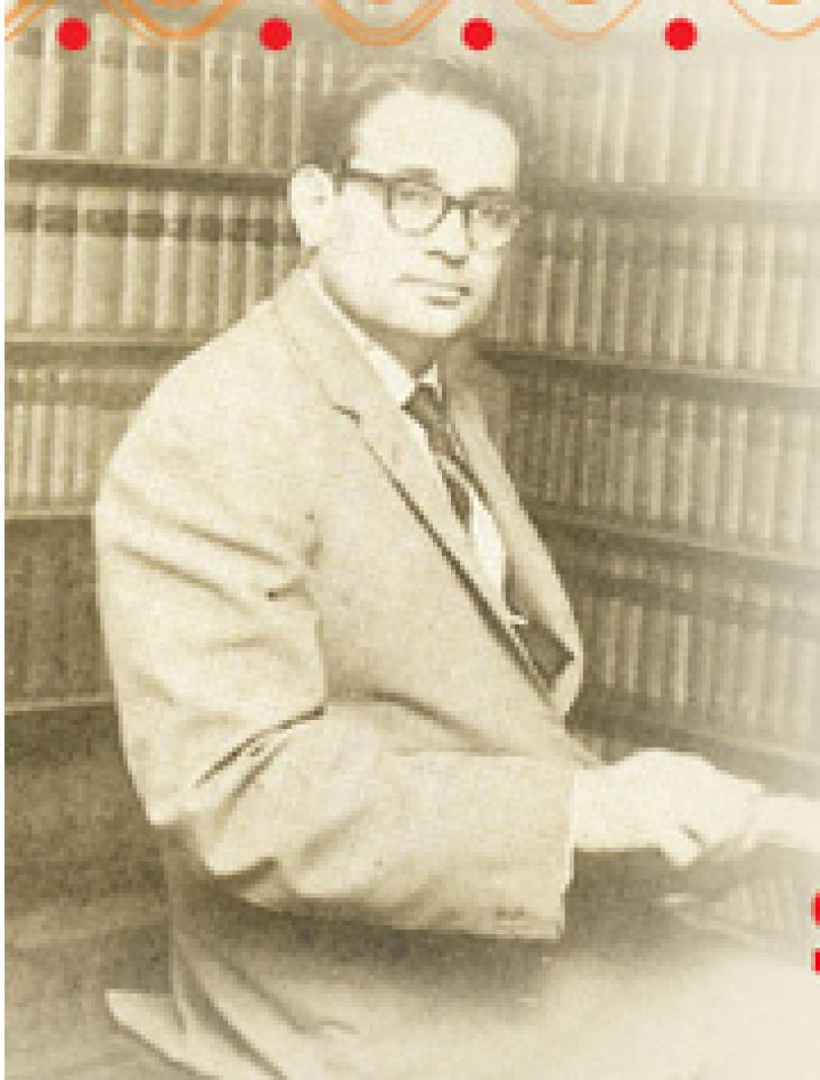 Spl postal cover on Prof M P Pai on April 10