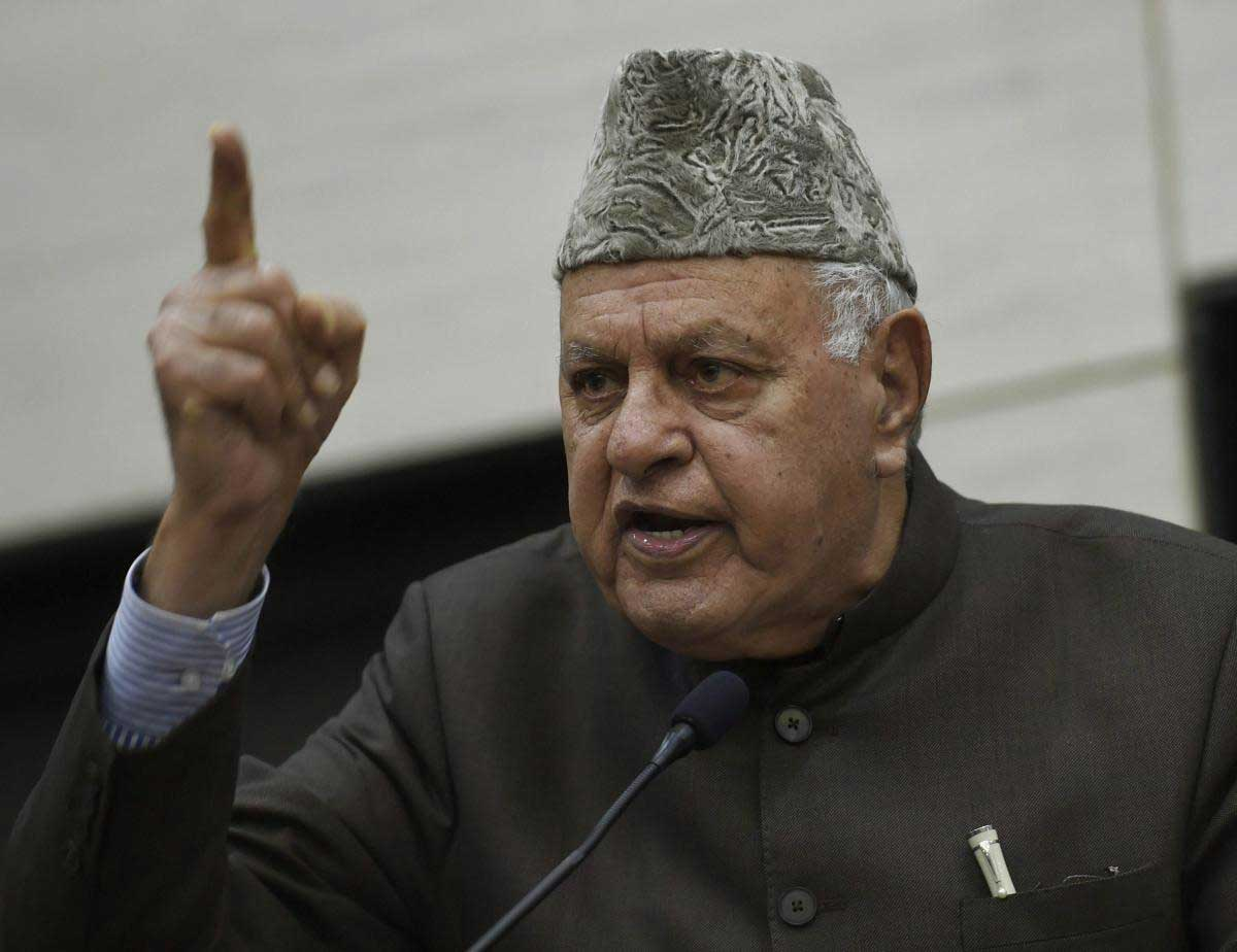 Turn LoC into Line of peace: Abdullah to Centre