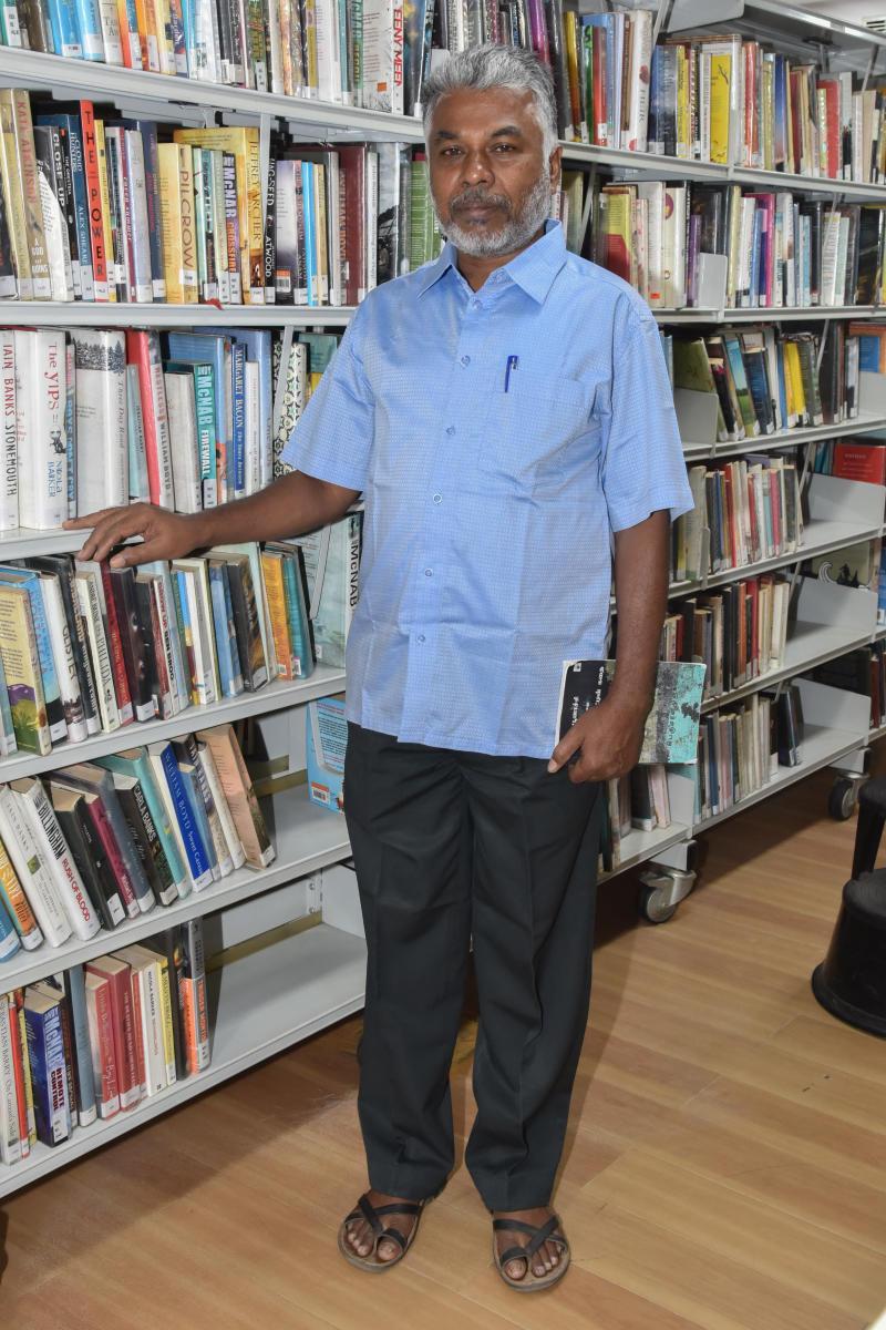 Afraid to write about humans, admits Perumal Murugan