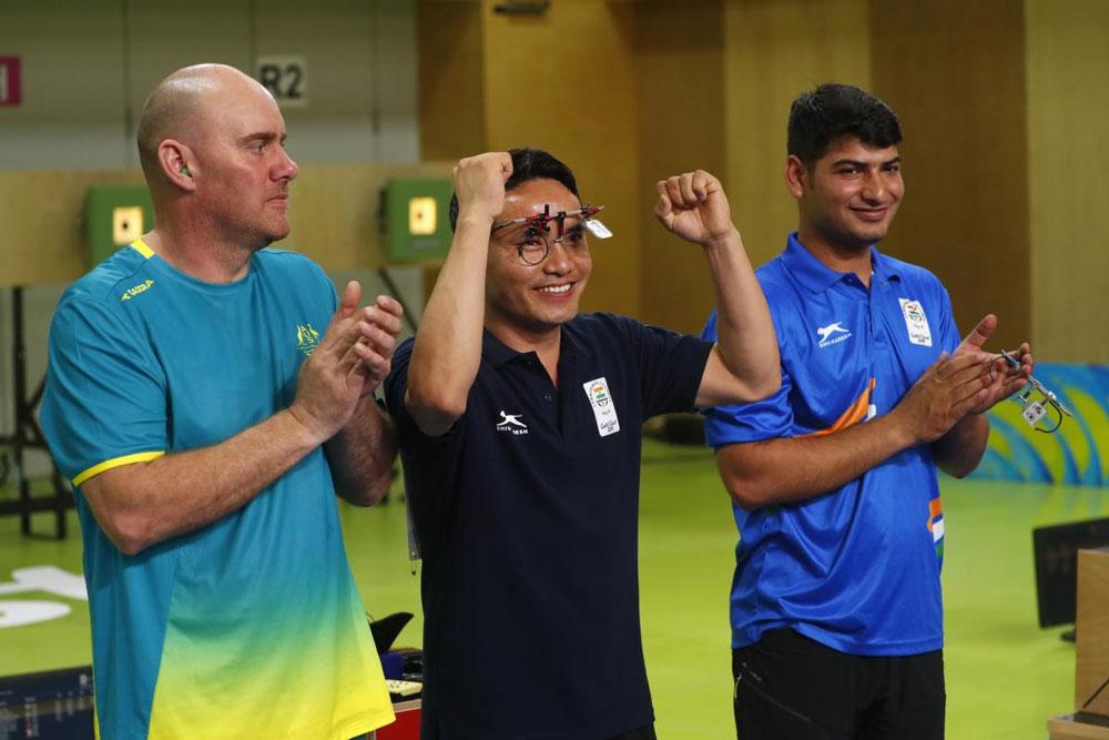 Record-breaking Jitu Rai wins gold, Om Prakash Mitharval bags bronze