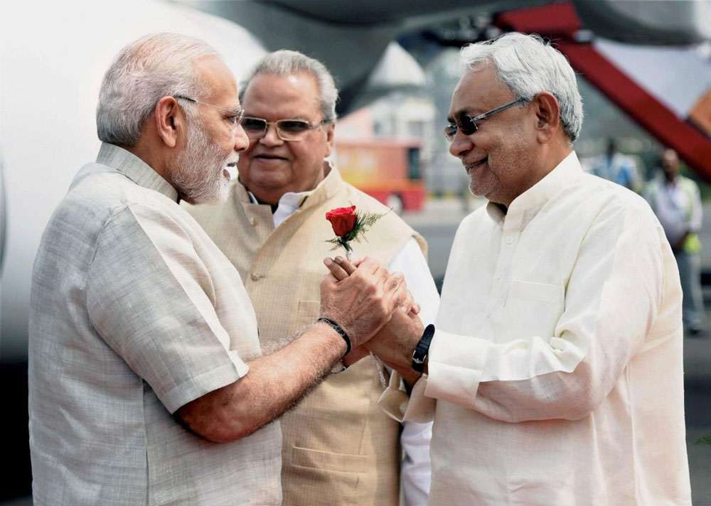 PM flags off 3 rail projects in Bihar