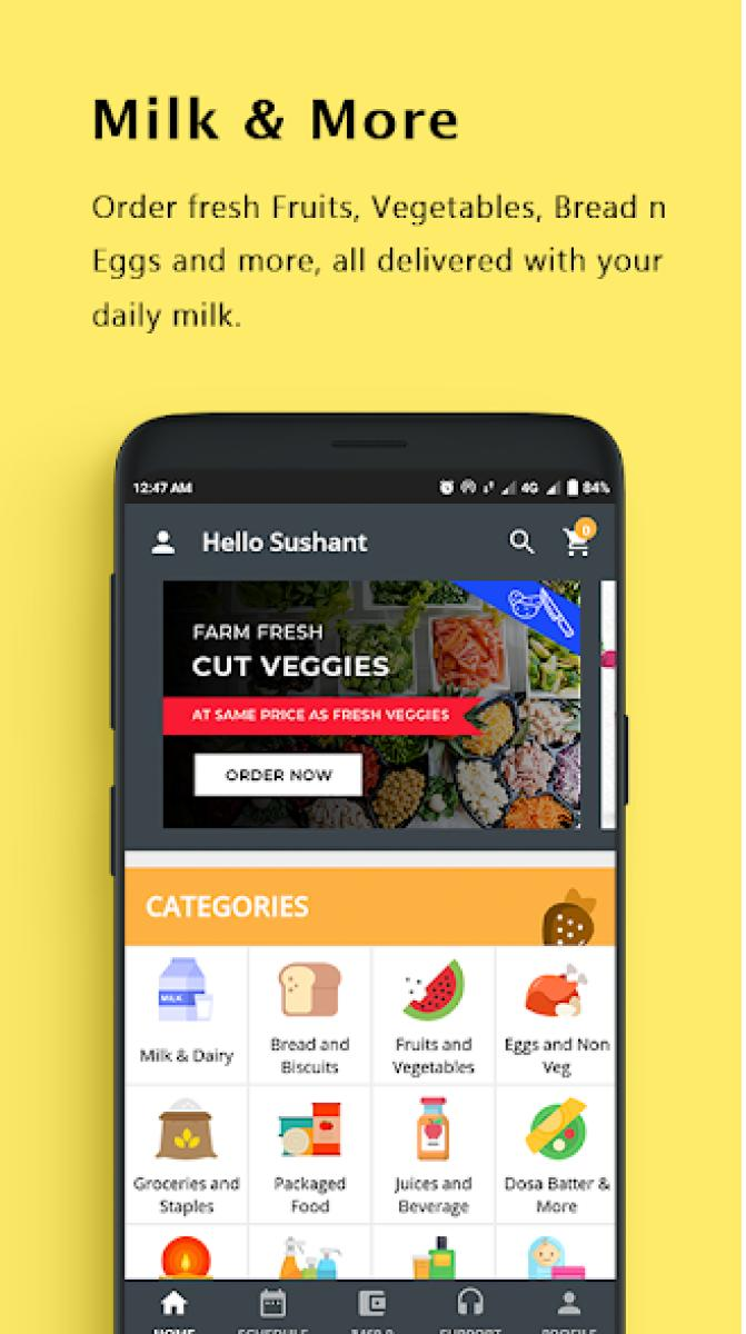 An app that gets your daily bread