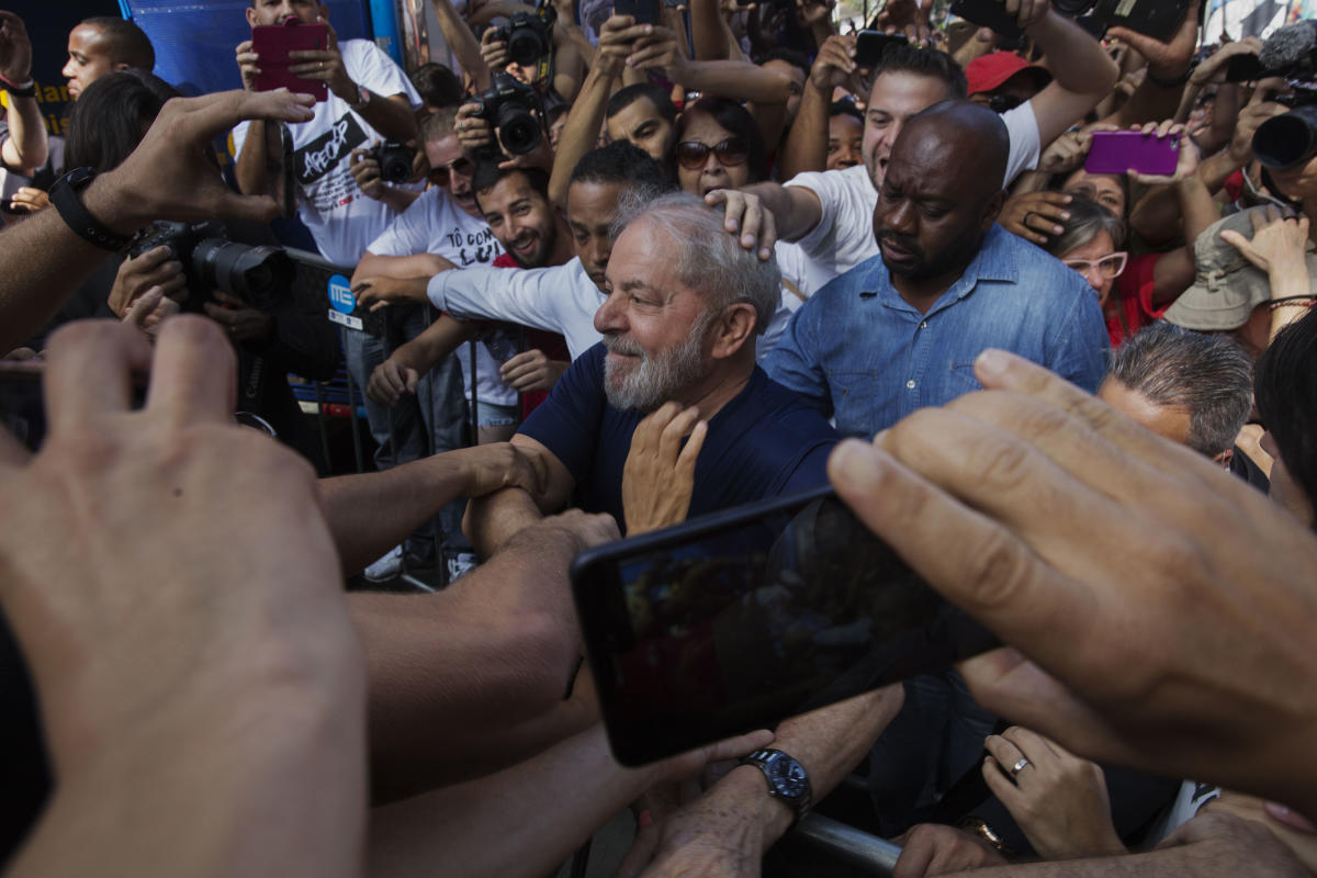 As Prez, Lula opened the prison. Now he's an inmate