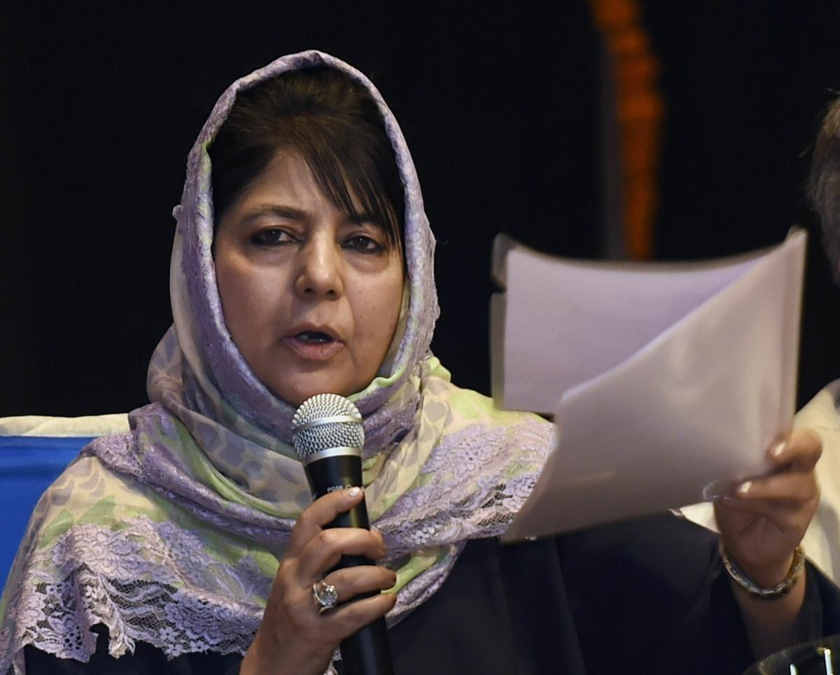 Kathua rape-murder: won't allow law to be obstructed, says Mehbooba