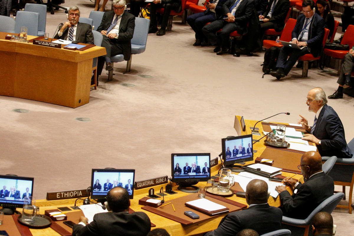 UNSC must prevent Syria spiralling out of control: UN chief