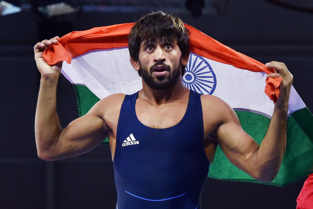 Bajrang leads Indian wrestlers' charge at CWG