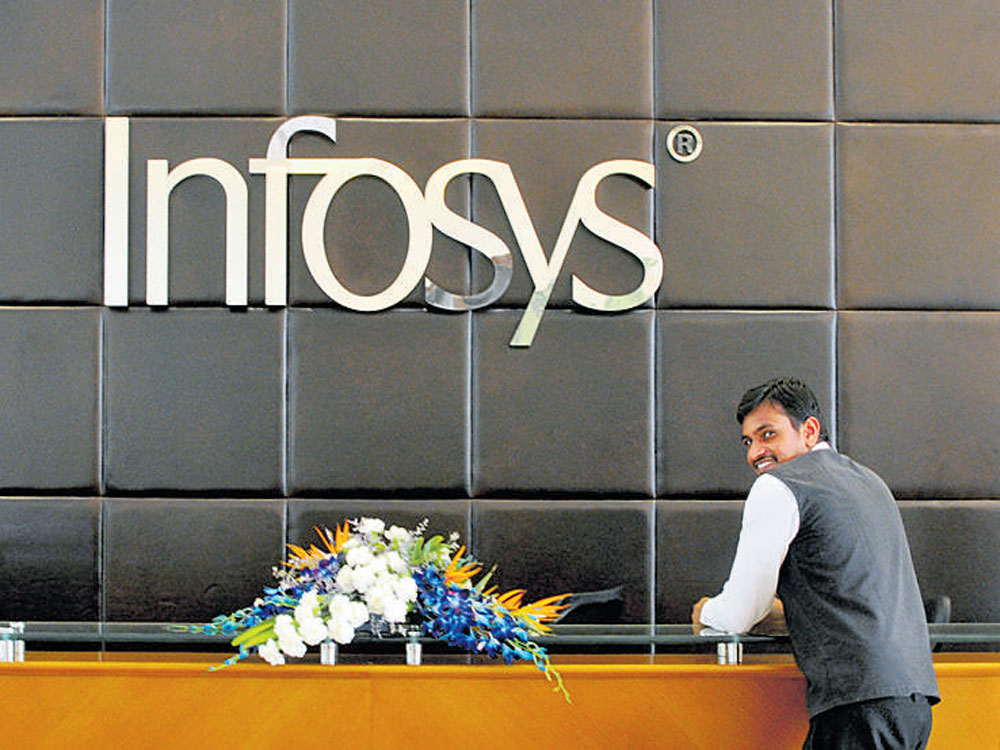 Infosys clocks net of Rs 3,690 crore for Q4