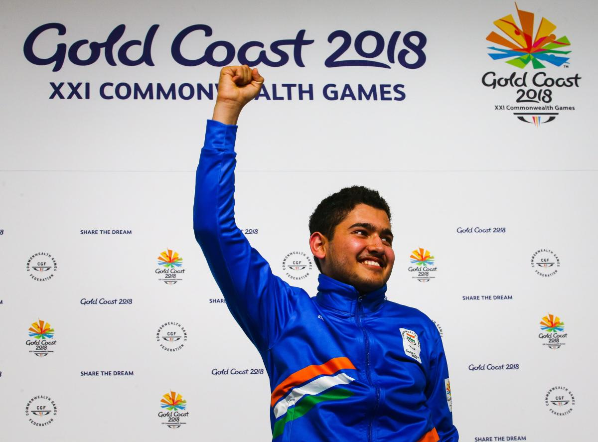 Shooter Anish youngest Indian CWG champ