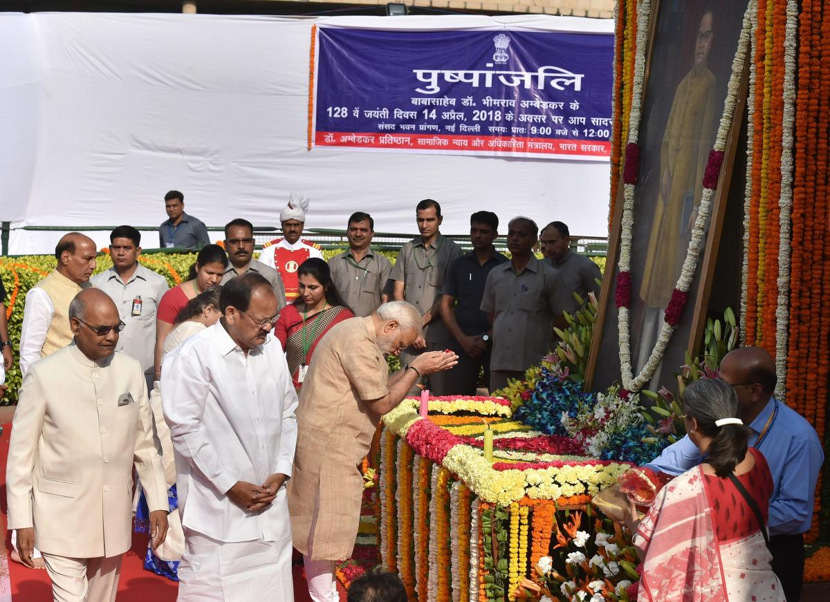 Ambedkar made provisions in Constitution for protecting rights of backward classes: PM Modi