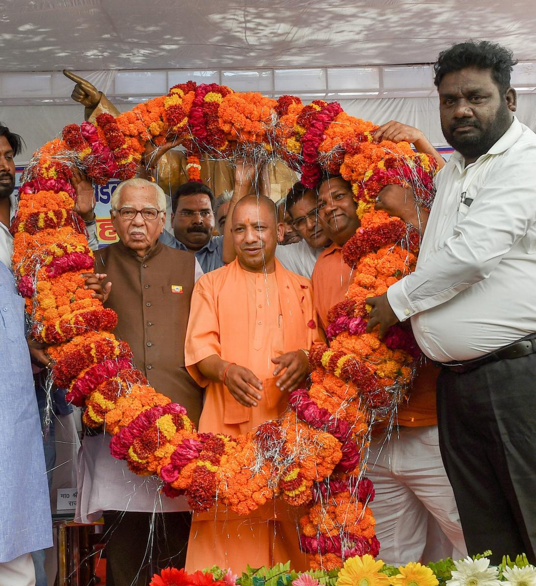 Outfit confers 'Dalit mitra' title on Yogi
