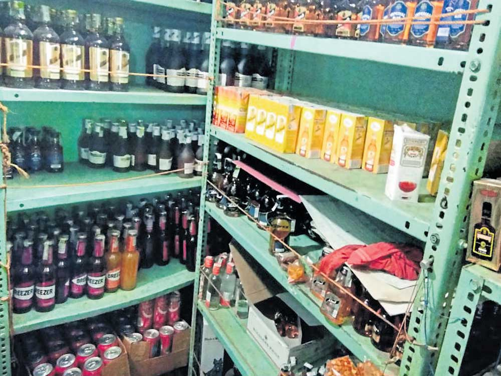 Man arrested for storing liquor for 'Roce'