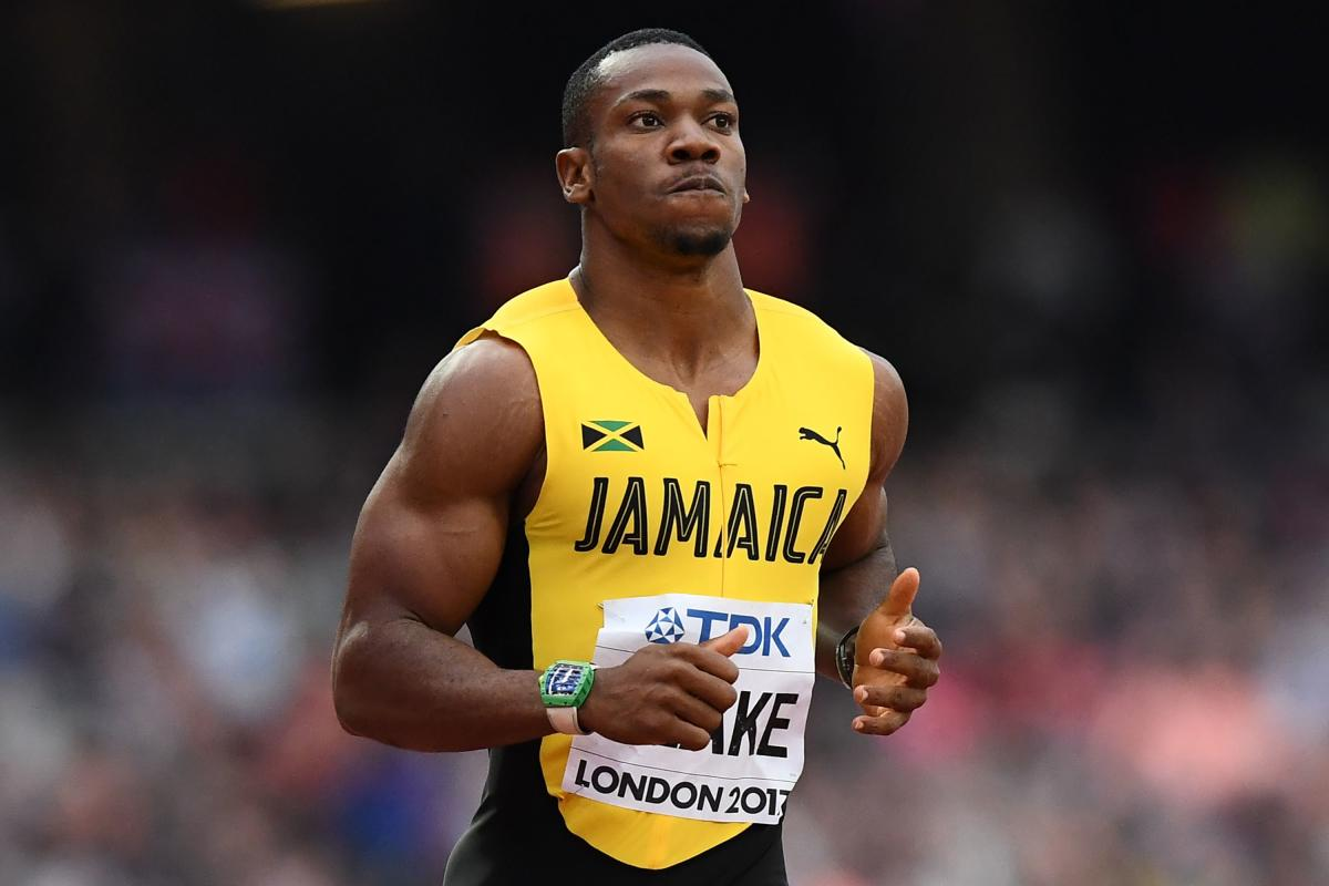 CAUSE ON CONCERN Yohan Blake and Elaine Thompson flattered to deceive at thejust-concluded Commonwealth Games. AFP