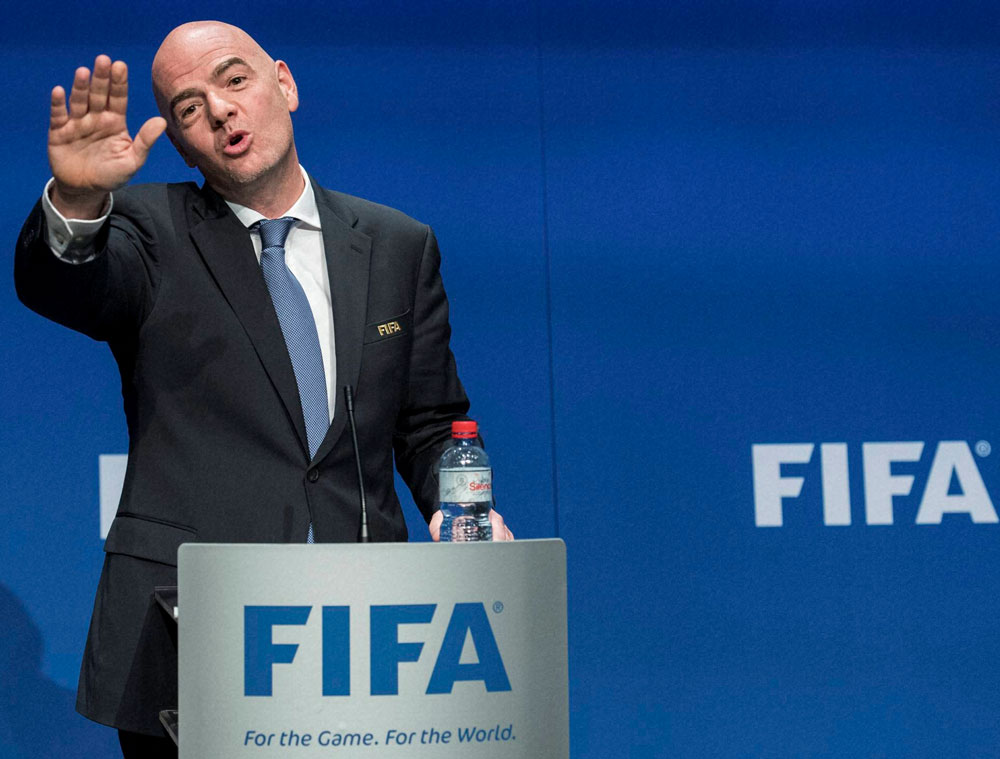 According to a letter Gianni Infantino, the president of world football's governing body, sent to the heads of the continental confederations, the Confederations Cup will cease while the club tournament will no longer be played annually in December. (AP/PTI file photo)