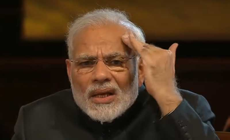 Prime Minister Narendra Modi warned Pakistan and said India will not tolerate those who export terror and will respond to them in the language they understand, referring to the 2016 surgical strikes conducted across the LoC.