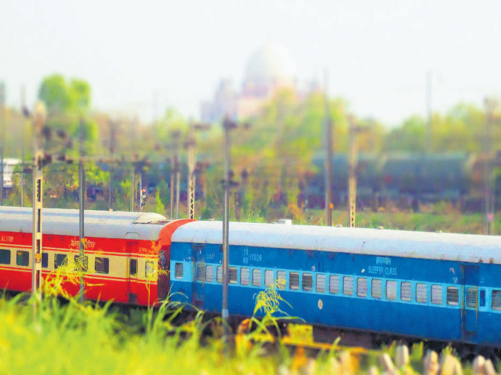 A group of unauthorised passengers had a heated exchange of words with the judicial officer over a seat in the train.