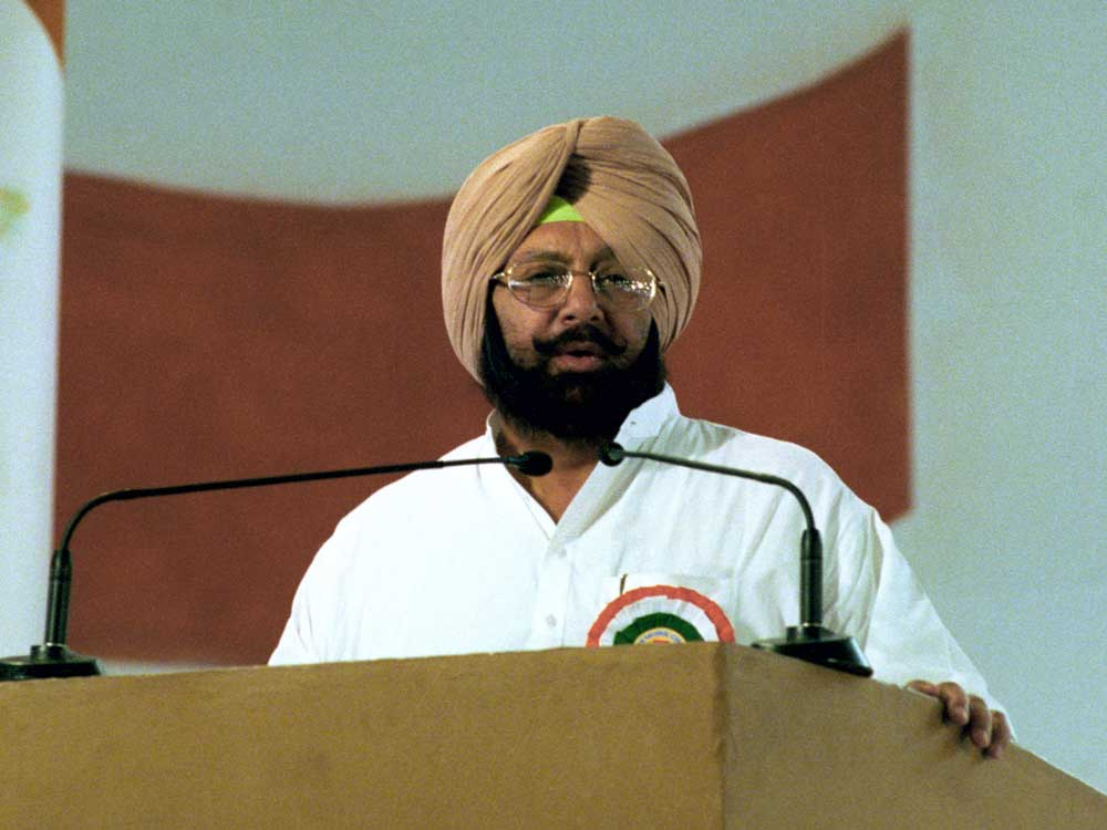 """During a """"meet-the-press"""" programme here, Malik alleged development has come to a standstill in Punjab under the Congress rule."""