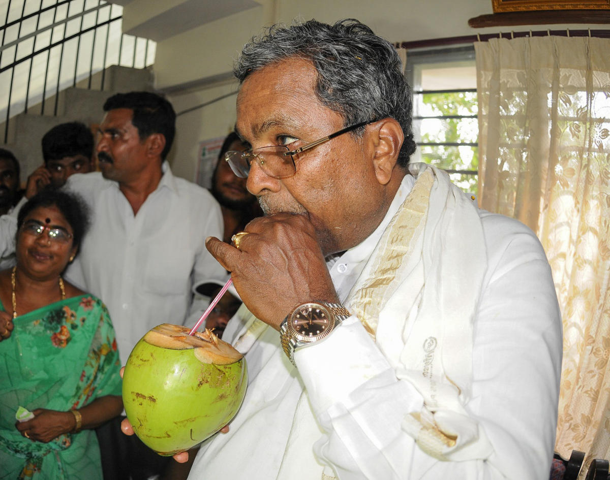 Siddaramaiah himself has been inconsistent on contesting from two seats, moving from occasional certainty to indecision. His latest stand is that he would take a call after discussing with Congress president Rahul Gandhi.