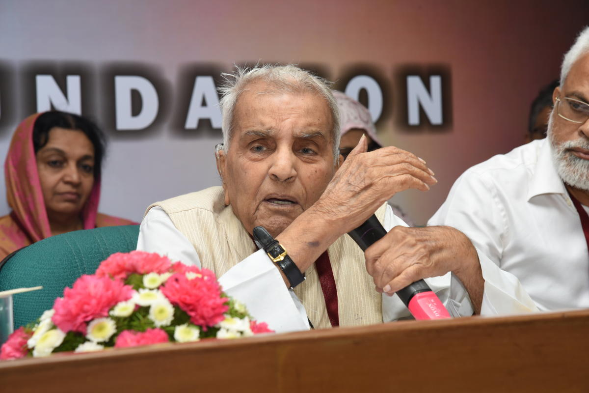 Sachar, who was the chairperson of a committee set up by the previous UPA government to look into the social, economic and educational status of Muslims in India