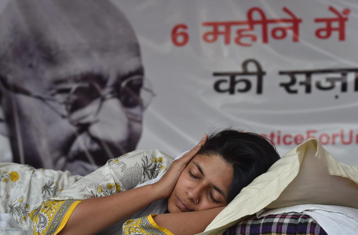 Maliwal is on a hunger strike for the past nine days at Rajghat in New Delhi.
