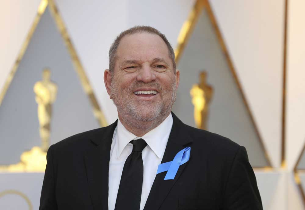 Weinstein is under criminal investigation in Los Angeles, New York, and London. He is also facing numerous lawsuits from former employees and actors, who accuse him of harassment and sexual assault. (Reuters file photo)