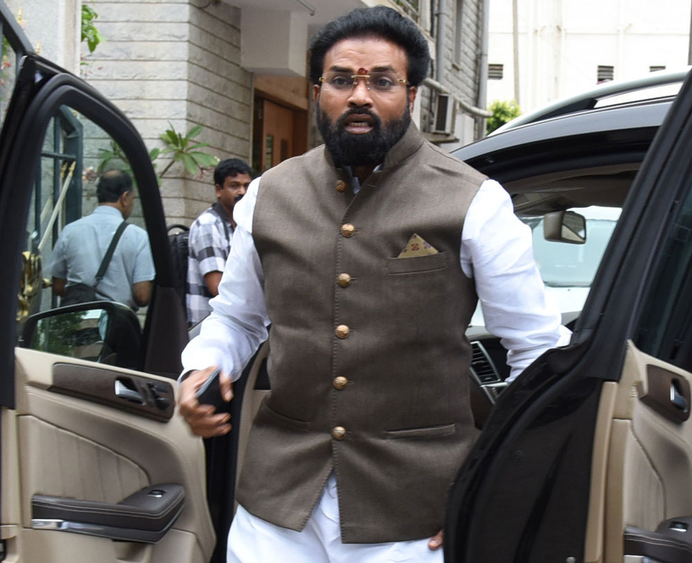 Ballari MP Sriramulu said on Sunday that he was ready to contest against Chief Minister Siddaramaiah from Badami if the party's top brass wanted him to do so. He said he would abide by any decision taken by the party. DH file photo