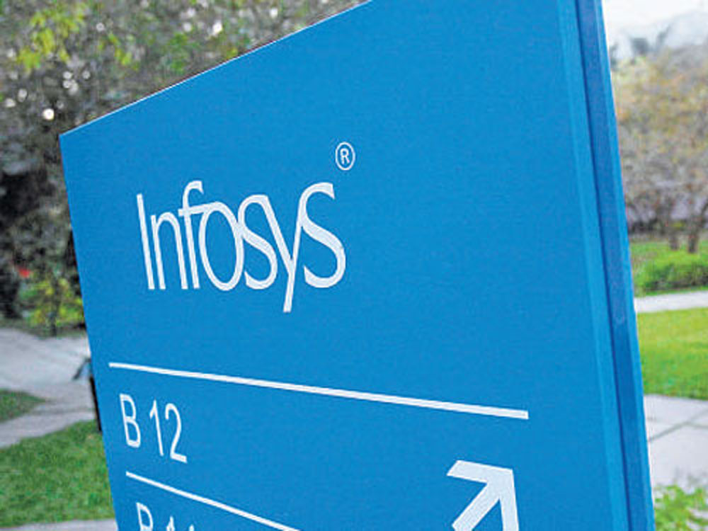 Infosys had a total headcount of 2,04,107 at the end of March 31, 2018. File Photo