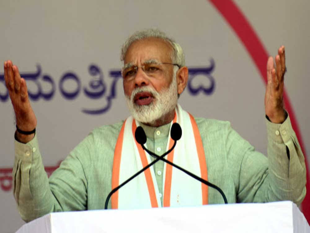 Prime Minister Narendra Modi has said the concern of southern states has no basis and that they might actually gain from the incentives proposed for states which have made progress in population control. (DH file photo)