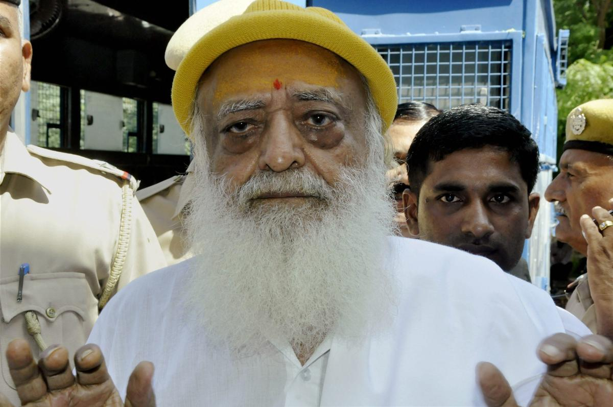 Asaram faces a minimum sentence of ten years in jail and a maximum of life term under the stringent sections of a law on sexual crimes against children. (PTI file photo)